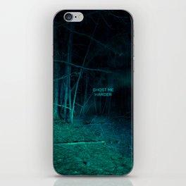Ghost Me Harder iPhone Skin