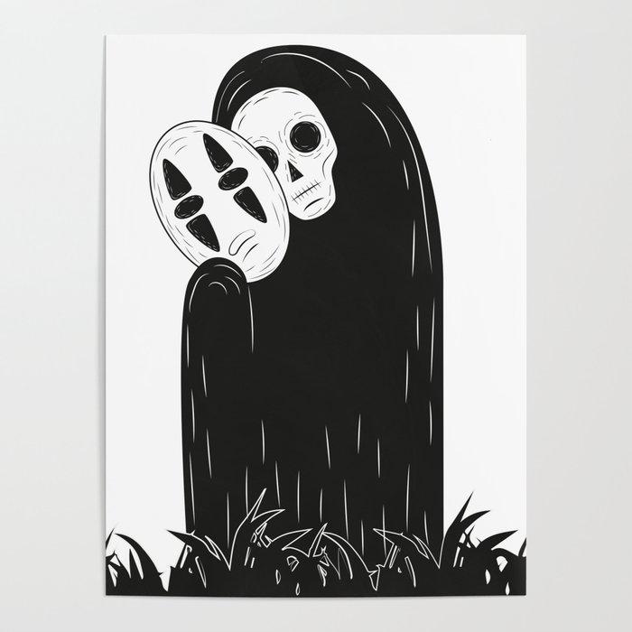 Sin Cara Poster By Kavic Society6