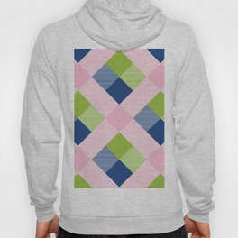 Geometrical Square Abstraction 25 Hoody