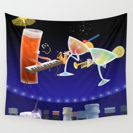 jazz & cheers Wall Tapestry