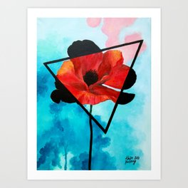 Poppy Dreams Art Print