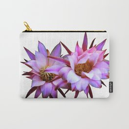 Purple cactus blossom Carry-All Pouch