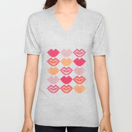 "Those lips are ""kilim"" me Unisex V-Neck"