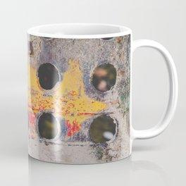 Abstract Industrial Metal Photograph Coffee Mug