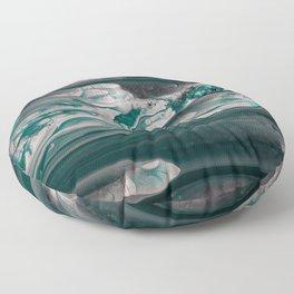 Melting Emerald Floor Pillow