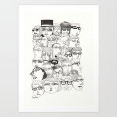 PeopleI Art Print