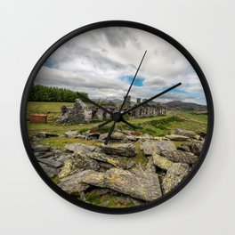 Quarry Ruin Wall Clock
