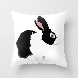 Black  Dutch Throw Pillow