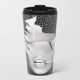 collage art / Faces 2 Metal Travel Mug
