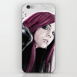 08. JESS iPhone Skin