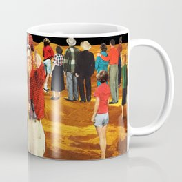 Americans looking the wrong way Coffee Mug