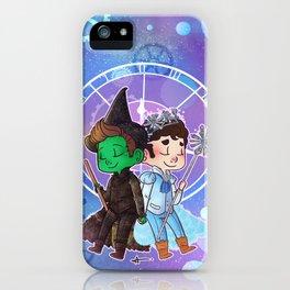 Defying Gravity iPhone Case