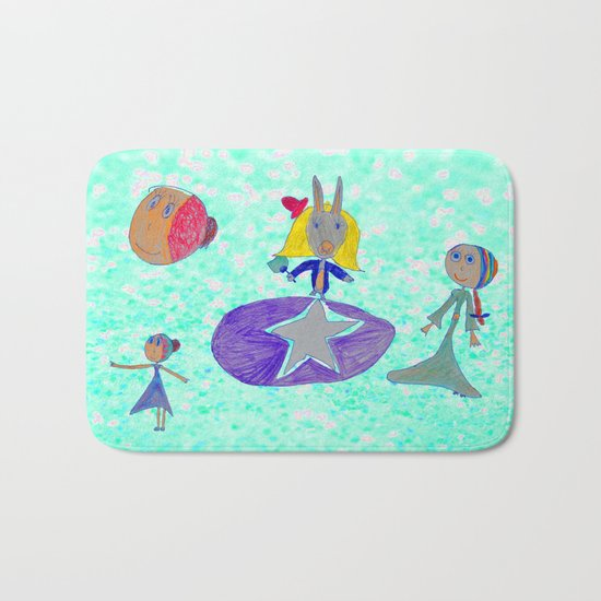 Alice | Up to the light sky Bath Mat