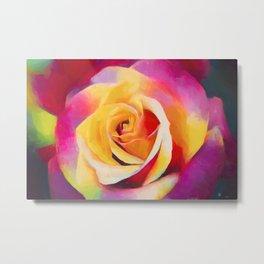 Rose 414 Metal Print