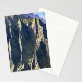 Hawaiian Magic: Angels' View Over Coastal Cliffs Stationery Cards