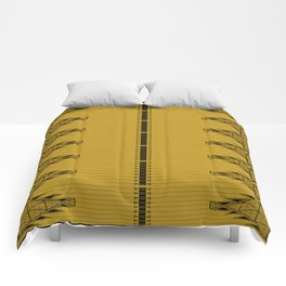 The Lodge (Gold) Comforters