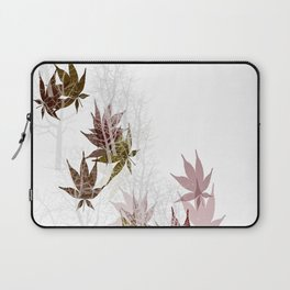 Leaves and Trees Laptop Sleeve