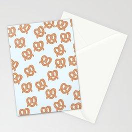 Cute Pretzel Stationery Cards