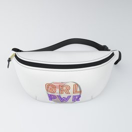 (Girl Power) GRL PWR - Bass Drum Fanny Pack