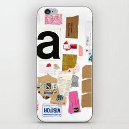 Paper Trail I  iPhone Skin