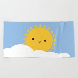 Good Morning Sunshine Beach Towel