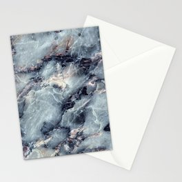 Blue Bayou Marble Stationery Cards