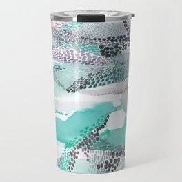 Reflection dream; sea blue Travel Mug