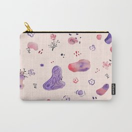 Roses and Rocks Carry-All Pouch