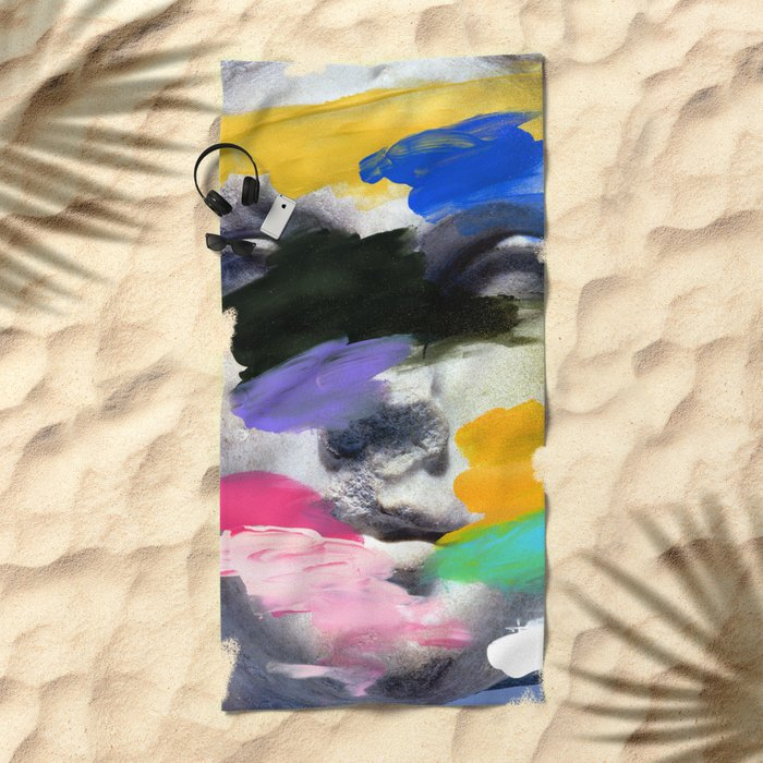 Composition 498 Beach Towel