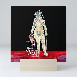 Medusa  (Thank you, next.) Mini Art Print