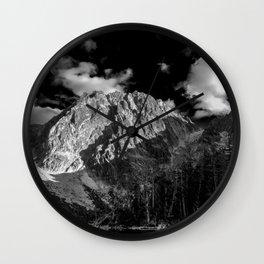 Dragontail Peak Wall Clock