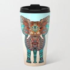 BOHO SUMMER ELEPHANT Metal Travel Mug