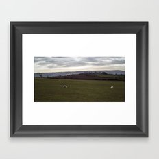 Banks Farm Framed Art Print