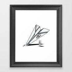 Papernauts Framed Art Print