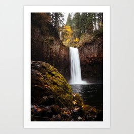 Abiqua Falls, Oregon Art Print