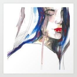 You made me forget ii Art Print