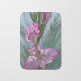 Gladiolus Bath Mat