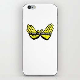 Wu Tang is for the children iPhone Skin