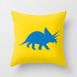 Simplesaurs: Ceratops Throw Pillow