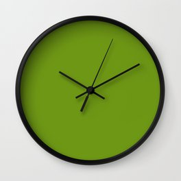 Stairway to Serenity ~ Moss Green Wall Clock