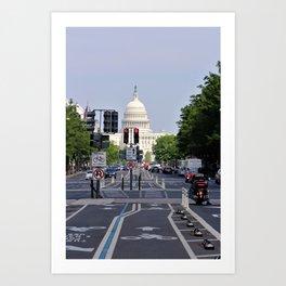 Capitol Art Print