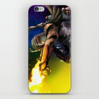 boba fett iPhone & iPod Skins featuring Boba Fett by Vincent Vernacatola