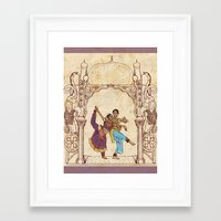 india Framed Art Prints featuring India by Tina Schofield