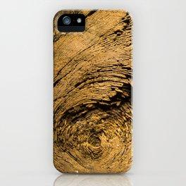 Wood Trunk Closeup iPhone Case