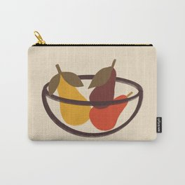 Modern Still Life with Pears Carry-All Pouch