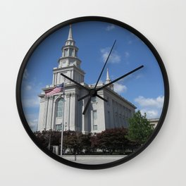 Philadelpha LDS Temple Wall Clock