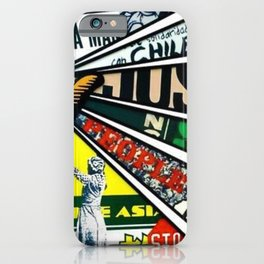 African American Center for Civil and Human Rights Mural iPhone Case