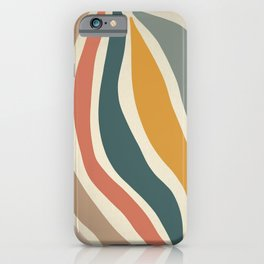 Giving - Abstract Art Print iPhone Case