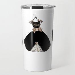 My favorite black dress Travel Mug