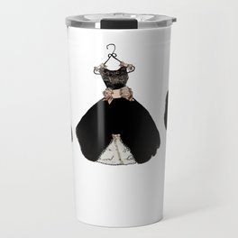 My favorite black dress Travel Mug